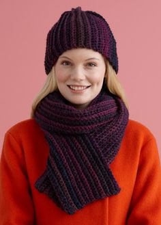 Wonder Knit Self Patterning Wool : Lion brand, Brisbane and Hats on Pinterest