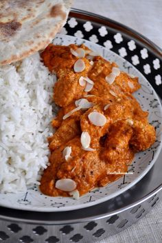 """I'm a big fan of Indian cuisine, and I love all Garam Massala dishes, especially the """"Butter Chicken"""" that I order systematically when we go to an Indian restaurant . Butter Chicken, Indian Food Recipes, Asian Recipes, Comida India, Restaurant Indien, Restaurant Restaurant, Salty Foods, India Food, Everyday Food"""