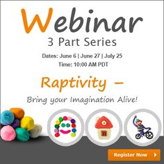 Free Webinar: Bring Your Imagination Alive with Raptivity  Would you be interested to know how can you meet the demands of varied learning styles, subject matters experts, and interactivity needs with Raptivity interactions?