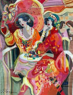 Sun Shining Outside by Israeli Artist Isaac Maimon