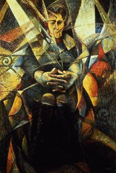 Umberto Boccioni, n.d, Portrait of a Seated Woman