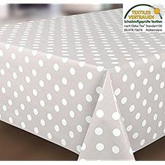 Spots Grey White Wipe Clean Tablecloth Oilcloth Vinyl Pvc Cut To Size Polka  Dot Grey 180x140cm