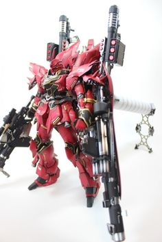 Custom Build: MG 1/100 MSN-06S Sinanju Full Armor - Gundam Kits Collection News and Reviews