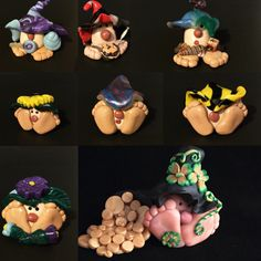 """New custom Gnome listings.   All available in 3 sizes & can come with or without an accessory (sized to suit the selected Gnome size). Examples of the accessories might be a """"stuffed"""" animal, football, or other item selected to suit your desired styles."""