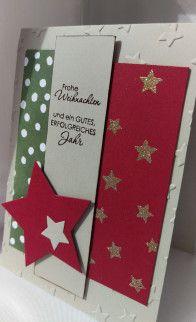 Weihnachtskarte Stampin' Up