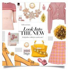 """vintage town"" by ztugceuslu ❤ liked on Polyvore featuring Miu Miu, Emilio De La Morena, Gucci, ZAC Zac Posen, Adeam, Disney, Lipstick Queen, SkinCare, Bobbi Brown Cosmetics and vintage"