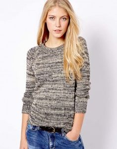 Mango Metallic Knit Jumper