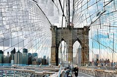 Pep Ventosa, Brooklyn Bridge Crossing, 2011 / 2012 © www.lumas.com/ #Lumas