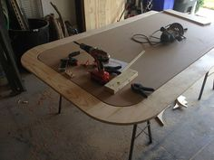 Tinygiant Workshop | Homemade Craps Table Casino Night Food, Garage Shelving, Mudroom, Woodworking Projects, Diy Furniture, How To Memorize Things, Workshop, Desk, Homemade