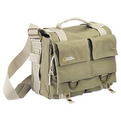 The National Geographic messenger bag.