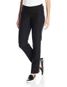 d071494df4 Lee Womens Modern Series Midrise Ivy Slim Straight Leg Pant Black 8     Learn more