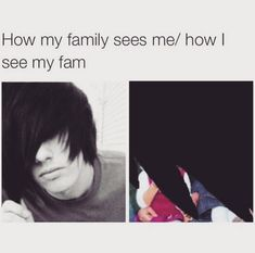 When your family didn't realise it wasn't just a phase: | 27 Pictures That Only Former Emo Kids Will Find Funny