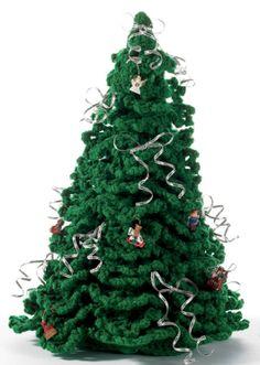 Crochet Christmas Tree - Michaels via WebArchive