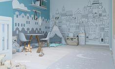 Kidsroom, Twinkle Twinkle, Nursery Decor, Baby Boy, Universe, Clouds, Blue, Instagram, Design