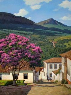 São João del Rei Places Around The World, Travel Around The World, Around The Worlds, Pictures To Paint, Cool Pictures, Beautiful World, Beautiful Places, South American Art, Exotic Places