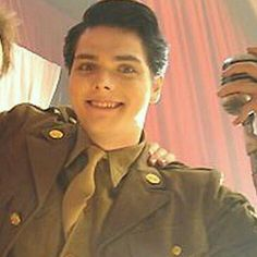 """Gerard Way in the """"Ghost of You"""" video. Such a beautiful smile!"""