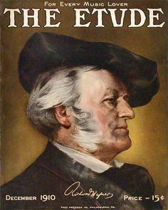 Etude 1910-12 Richard Wagner
