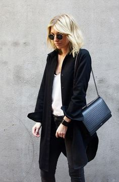 D a m o y | Tom Wood black shirtdress