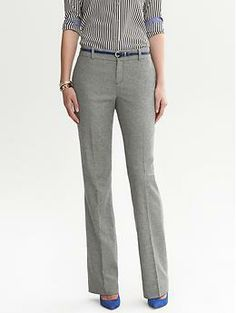Martin-Fit Charcoal Flannel Trouser Rated 2 starsBased on 2 ratings   regularpetite #686120 prices may vary Color: Charcoal $110.00