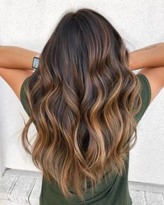 These 11 Fall Hair Color Trends are This Year's Most Popular Source by Our Reader Score[Total: 0 Average: Related Balayage Hairstyles: Inspiration Guide and Trends in by Sarah on hair in 2020 Brown Ombre Hair, Brown Hair Balayage, Brown Hair With Highlights, Balayage Brunette, Ombre Hair Color, Light Brown Hair, Hair Color Balayage, Brunette Hair, Dark Brown