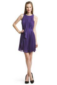 Pleat Perfection Dress