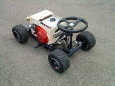 Beer Crate Racer Build - DIY Forum on karting - car 2019 Karting, Triumph Motorcycles, Cars And Motorcycles, Mini Kart, Mini Buggy, Go Kart Plans, Diy Go Kart, Drift Trike, Rc Autos