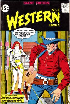 western comics covers   Mimosa Western Comics Giant Edition 1 (All-Star Western 117 cover); 2 ...