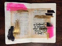 The Drawing Board | Get Messy Art Journal | Season of Serenity | Get Messy Goddess