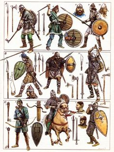 Warriors of 1066 AD