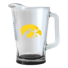 Iowa Hawkeyes 60 oz Elite Glass Pitcher