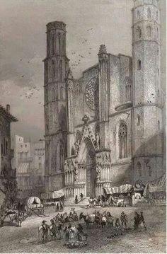 Santa Maria del Mar.1851