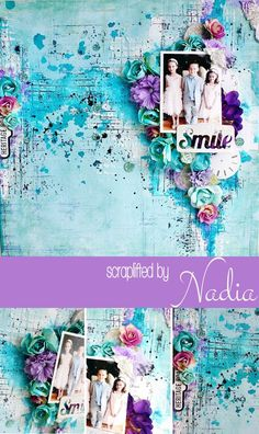 Nadia's layout is fresh and fun with a completely different color palette. And that's what makes scraplifting so FUN! You're not copying but, instead, just lifting the parts that YOU want! Nadia mainly focused on repeating the main composition of the layout. So you'll see similar placement of the photo, embellishments, and artsy touches. It's the same basic layout...just with different elements...elements that work with Nadia's beautiful style! #ScrapliftThis #PrimaFun