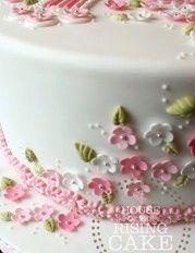 cake decorating detail