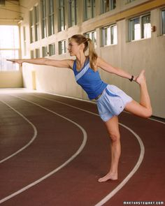Yoga fixes for tight runner's muscles