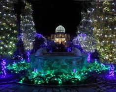 1000 images about dominion gardenfest of lights on pinterest botanical gardens the for Lewis ginter botanical gardens christmas