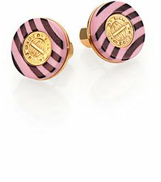 Marc by Marc Jacobs Signature Striped Stud Earrings on shopstyle.com