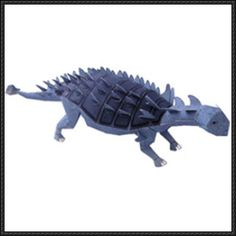 Canon Papercraft: Dinosaur - Euoplocephalus Free Template Download - http://www.papercraftsquare.com/canon-papercraft-dinosaur-euoplocephalus-free-template-download.html