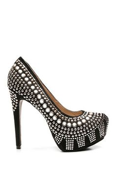 Two Lips Studlee Studded Pump by Non Specific on @HauteLook