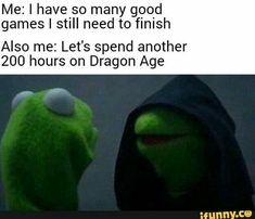 The reason why I have never finished a fallout game. Dragon Age and Mass Effect. Dragon Age Memes, Dragon Age Funny, Dragon Age Origins, Dragon Age Inquisition, Blockchain, Inner Me, Shall We Date, Nerd Geek, Skyrim