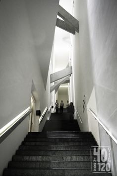 Jewish Museum Staircase - Berlin, Germany