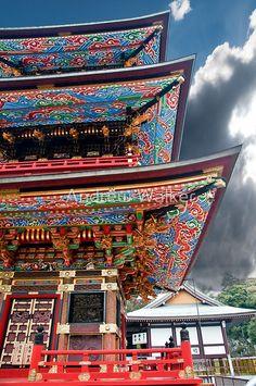 Pagoda at Narita-san Shinsho-ji temple, Chiba, Japan