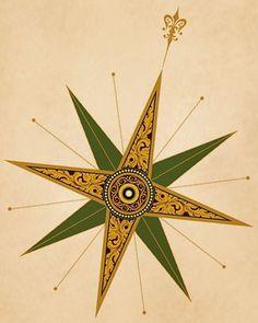 Compass Rose Tattoos: Symbolism and Designs