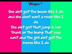"""Blaque- She Ain't Got The Boom Like I Do Lyrics( Any Requests?) reminds me of Anne Boleyn talking about Jane Seymour. Jane so did not have that """"boom."""""""