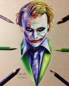 Joker Batman Joker Wallpaper, Joker Wallpapers, Joker Dark Knight, Joker Drawings, Heath Ledger Joker, Mickey Mouse Art, Batman Tattoo, Joker Art, Joker And Harley Quinn