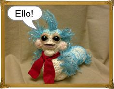 Worm from Labyrinth **with pattern and photo tute!! Finally!! ** - CROCHET