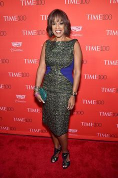 Gayle King at the TIME 100 gala in New York on April 26, 2016.
