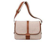 """Bourlingue Hermes bag in H canvas Adjustable handles in canvas and Barenia calfskin<br />Measures 12"""" x 10"""" x 4.5""""<br />Permabrass hardware Color : ecru/beige/fawn"""