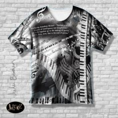 Piano Quotes T-Shirt  www.grothmusic.com