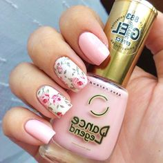 40 Lovely Floral Nail Art Ideas To Bloom Your Mood