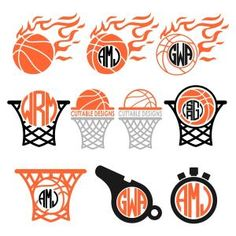 Basketball Pack with Net, Whistle and Stopwatch Cuttable Design Cut File. Vector, Clipart, Digital Scrapbooking Download, Available in JPEG, PDF, EPS, DXF and SVG. Works with Cricut, Design Space, Sure Cuts A Lot, Make the Cut!, Inkscape, CorelDraw, Adobe Illustrator, Silhouette Cameo, Brother ScanNCut and other compatible software.